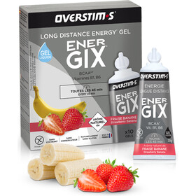 OVERSTIM.s Energix Liquid Gel confezione 10x30g, Strawberry Banana